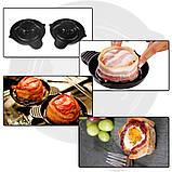 Набор форм для выпечки Perfect Bacon Bowl (съедобная тарелка из бекона), фото 9