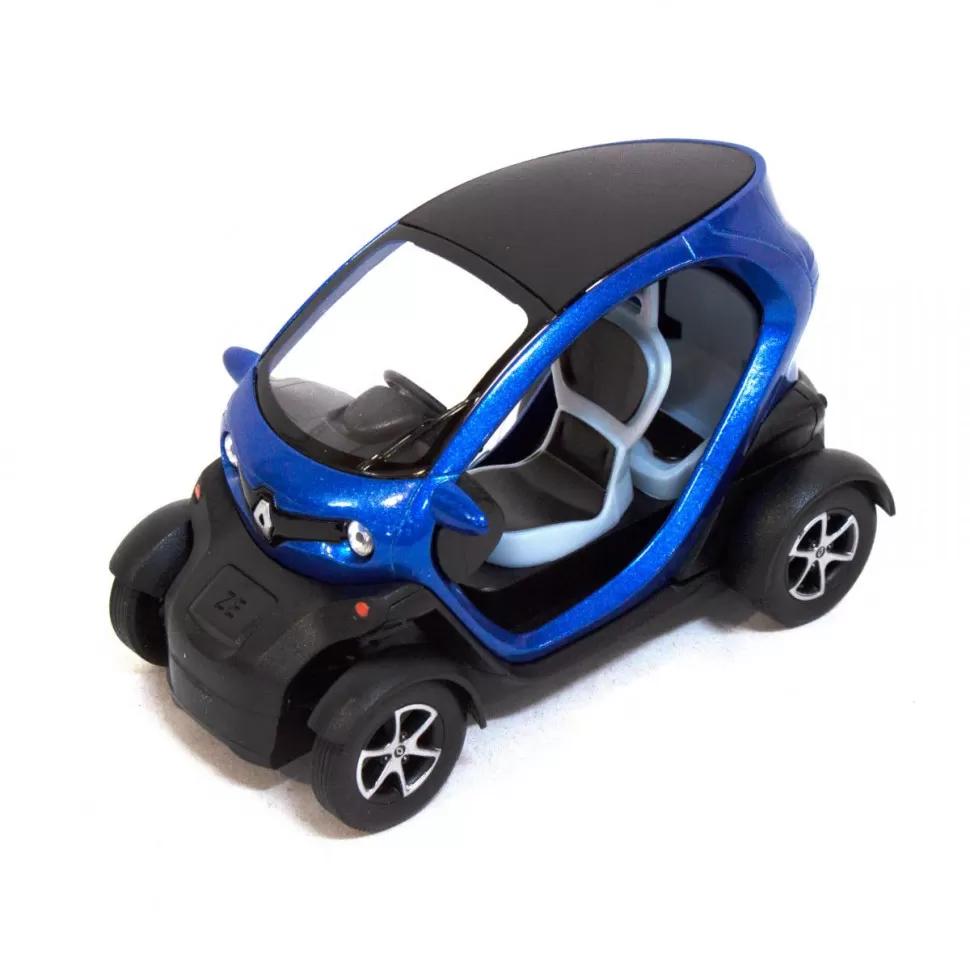 Іграшкова машинка металева Kinsmart КТ5111 Renault Twizy Синій
