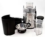Кухонная электрическая соковыжималка Domotec MS 5220 600W | цитрус пресс, фото 3