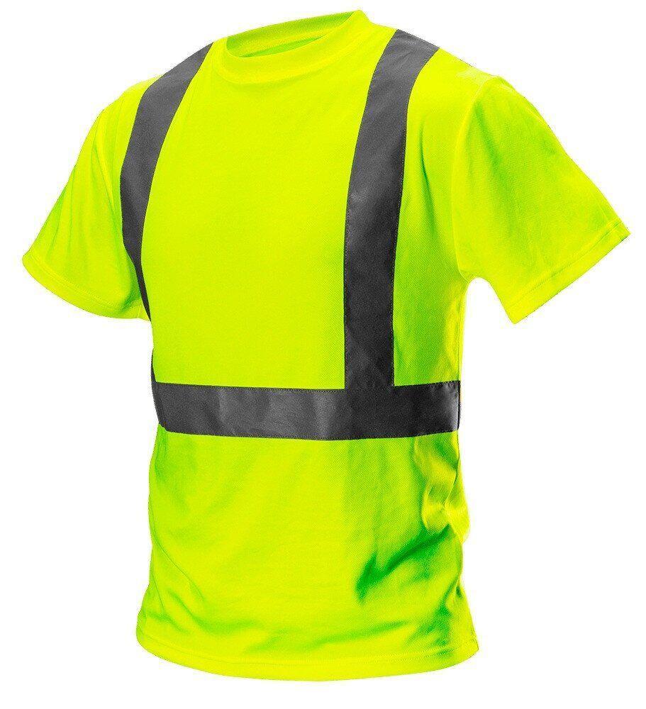 Сигнальная футболка 81-732 , желтого цвета. NEO TOOLS
