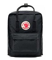 Молодежный рюкзак Fjallraven Kanken Classic Черный FK16-02, КОД: 1620674