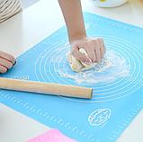 Силиконовый коврик для выпечки Benson BN-021 (30*40см) | коврик кондитерский Бенсон | коврик для теста Бэнсон, фото 7