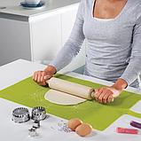 Силиконовый коврик для выпечки Benson BN-021 (30*40см) | коврик кондитерский Бенсон | коврик для теста Бэнсон, фото 8