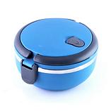 Ланч-бокс Benson BN-042 (700 мл) синий | контейнер для еды Бенсон | ланчбокс Бэнсон, фото 6