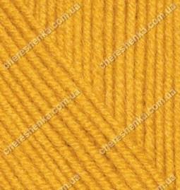 Нитки Alize Cashmira 14 темно-желтый