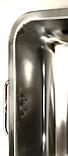 Піднос глибокий з ручками Benson BN-670 з нержавіючої сталі (36*27*7*0,7 см) | гастроємність Бенсон, Бэнсон, фото 3