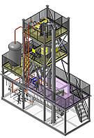 Установка регенерации метанола