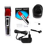 Профессиональная машинка для стрижки волос Kemei LFQ-KM-1006 | триммер для волос, фото 2