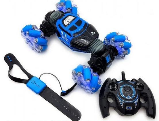 Машинка Перевертыш YILE Toys YL-41 управление с руки и пультом | Вездеход трансформер на радиоуправлении