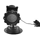 Лазерный проектор для дома Laser Projector Lamp 4 картриджа | гирлянда лазерная подсветка для дома, фото 8
