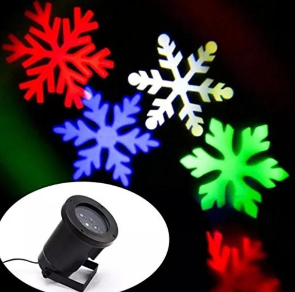 Лазерний проектор для будинку Led Strahler Schneeflocke Z2 | гірлянда лазерна підсвічування для будинку