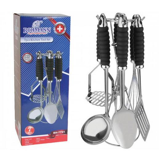 Набор кухонных принадлежностей Bohmann BH-7791 из 7 предметов
