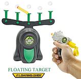 Воздушный тир Hover Blast Стрельба по парящим шарикам | Пистолет с дротиками и летающие мишени, фото 2
