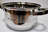 Набір кухонного посуду Bohmann ВН 1275-10 10 предметів 4 каструлі і ківш з кришками, фото 3