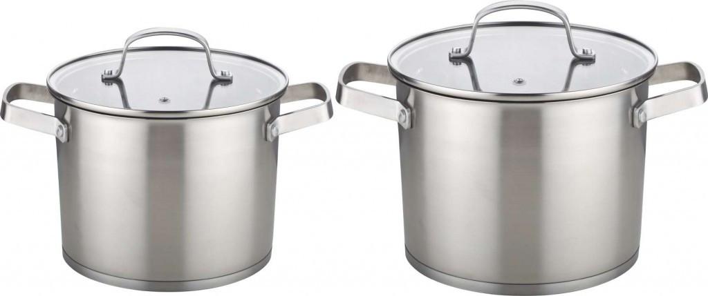 Набор кухонной посуды Con Brio CB-1158 4 предмета 2 кастрюли с крышками