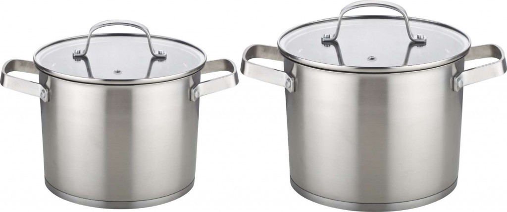 Набір кухонного посуду Con Brio CB-1157 4 предмета 2 каструлі з кришками