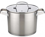 Набір кухонного посуду Con Brio CB-1157 4 предмета 2 каструлі з кришками, фото 2