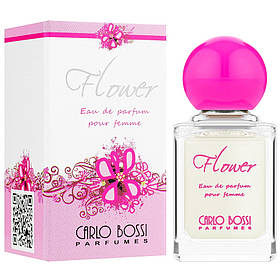 Парфюмерная вода для женщин Carlo Bossi Flower Rose мини 10 мл (01020107901)