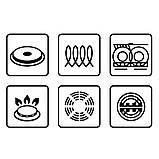 Набор посуды Maestro MR-2206-10, 10 предметов, нержавеющая сталь, золотые ручки | кастрюли Маэстро, Маестро, фото 4
