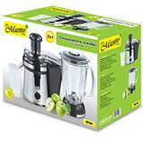 Кухонная электрическая соковыжималка + блендер Maestro MR-804 | цитрус пресс Маэстро, Маестро, фото 2