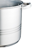 Кастрюля с крышкой из нержавеющей стали Maestro MR-3517-16 (16 л)   набор посуды   кастрюли Маэстро, Маестро, фото 6