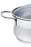 Каструля з кришкою з нержавіючої сталі Maestro MR-3508-30 (10 л)   набір посуду Маестро   каструлі Маестро, фото 6
