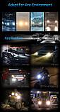 Светодиодные LED лампы S1 H7 для автомобиля | автолампы 6500K 4000lm Цоколь | лед автолампы, фото 4