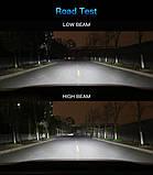 Светодиодные LED лампы S1 H7 для автомобиля | автолампы 6500K 4000lm Цоколь | лед автолампы, фото 6