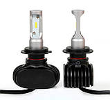Светодиодные LED лампы S1 H7 для автомобиля | автолампы 6500K 4000lm Цоколь | лед автолампы, фото 7