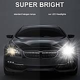 Світлодіодні LED лампи S1 HB3 для автомобіля | автолампи 5000K 4000lm Цоколь | лід автолампи, фото 2
