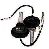 Світлодіодні LED лампи S1 HB3 для автомобіля | автолампи 5000K 4000lm Цоколь | лід автолампи, фото 9