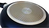 Сковорода з антипригарним покриттям Con Brio CB-4227 (22 см)   сковорідка Con Brio, фото 4