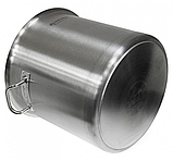 Каструля Edenberg EB-3776 з нержавіючої сталі з кришкою 40 л | Каструля Эденберг, фото 2