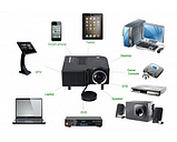 Портативний проектор UC28 WiFi, фото 6