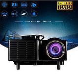 Портативний проектор UC28 WiFi, фото 8