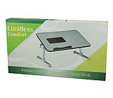 Подставка столик охлаждающая для ноутбука A8 Table, фото 2