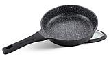 Набор посуды Edenberg EB-9186 из 10 предметов казаны сковорода и ковш мраморное покрытие, фото 7
