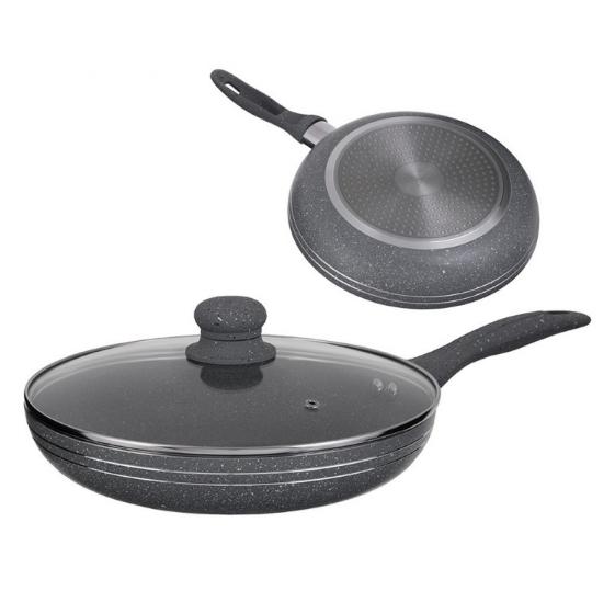 Сковорода Edenberg EB-784 з мармуровим антипригарним покриттям 20 см
