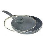 Сковорода Edenberg EB-784 з мармуровим антипригарним покриттям 20 см, фото 3