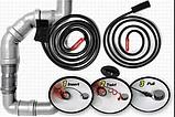 Пристрій для чищення каналізації Turbo Snake №К12-122 | Прилад для чищення труб | Трос для прочищення, фото 6