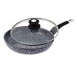 Сковорода Edenberg EB-9167 з двостороннім гранітним покриттям 26 см, фото 2