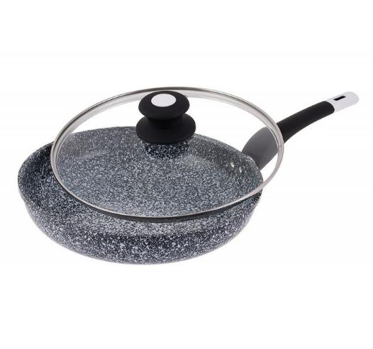 Сковорода Edenberg EB-9168 з двостороннім гранітним покриттям 28 см