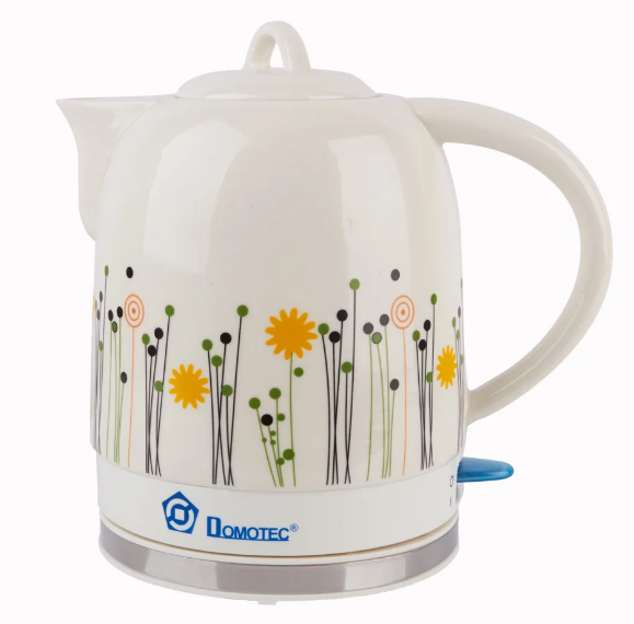 Електрочайник керамічний DOMOTEC MS-5057 | електричний чайник