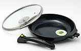 Сковорідка зі зйомною ручкою MAESTRO MR-4426 (керамічне покриття)   сковорідка Маестро   сковороди Маестро, фото 4
