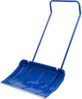 Скрепер на колесах для уборки снега MAAN (синий)