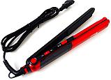 Прасочка для волосся гофре 2 в 1 Domotec MS-4909   Щипці випрямляч Домотек, фото 3