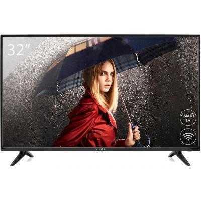 "Телевизор Vinga S32HD22B 32"" HD, DVB-T2, WiFi, SmartTV"