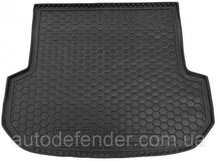 Коврик в багажник для Kia Sorento III 2015-2020 UM Prime (5мест), резиновый (полиуретановый) Avto-Gumm