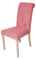 Деревянный мягкий стул для кафе, ресторанов, дома. Каркас: бук покрыт бейцем. МГ-042е