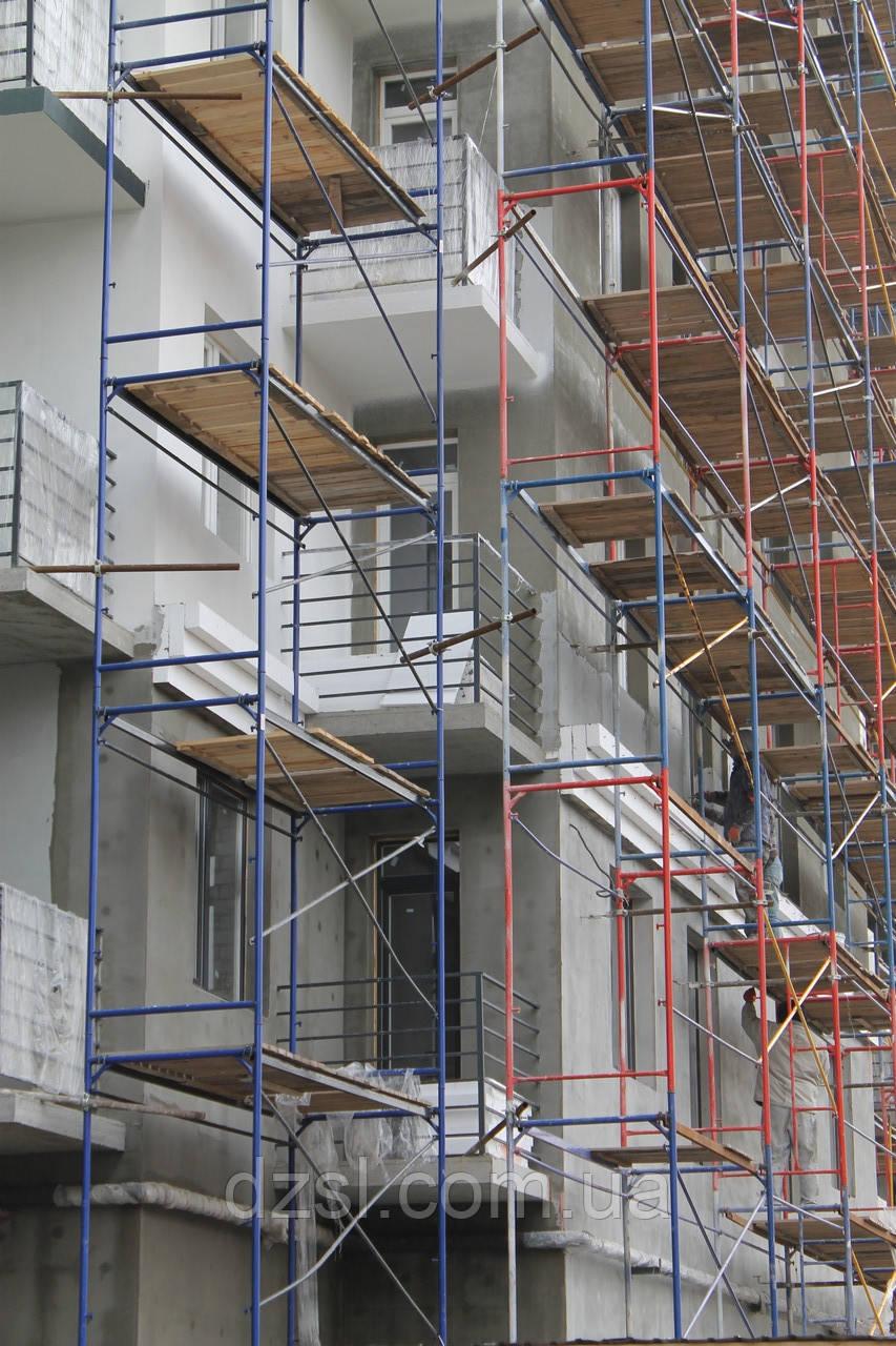 Будівельні рамні риштування комплектація 10 х 6 (м)